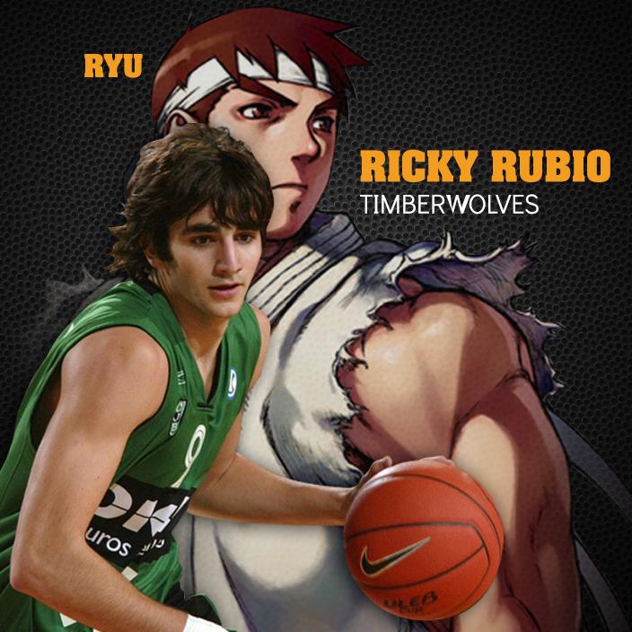 ryu y ricky rubio en viva basquet