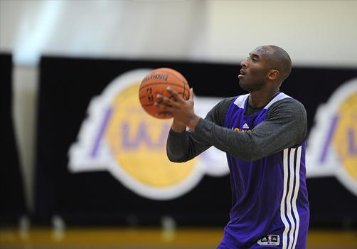 kobe entrenando por viva basquet