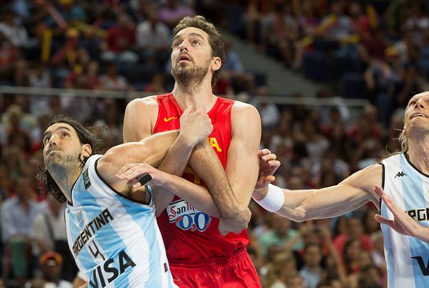 Federación española de Baloncesto en viva basquet