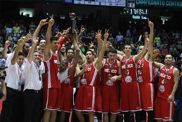 mexico campeon del centrobasket 2014 en viva basquet