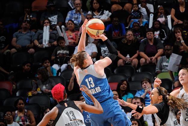 Lindsay Whalen en los playoffs en viva basquet