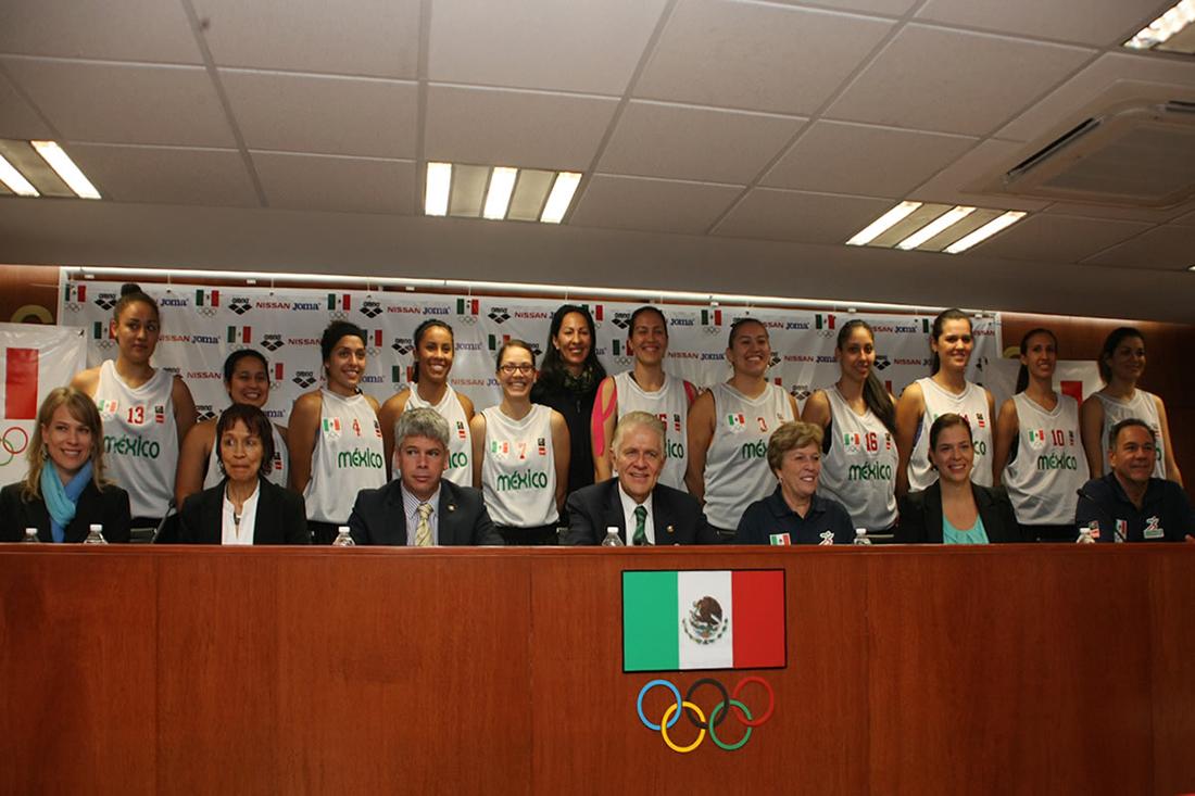 La Selección Femenil de basquetbol en nuevas manos. en viva basquet