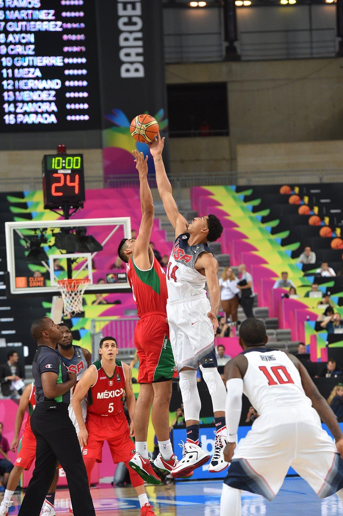 octavos de final mexico contra estados unidos en el mundial de basquetbol españa 2014en viva basquet
