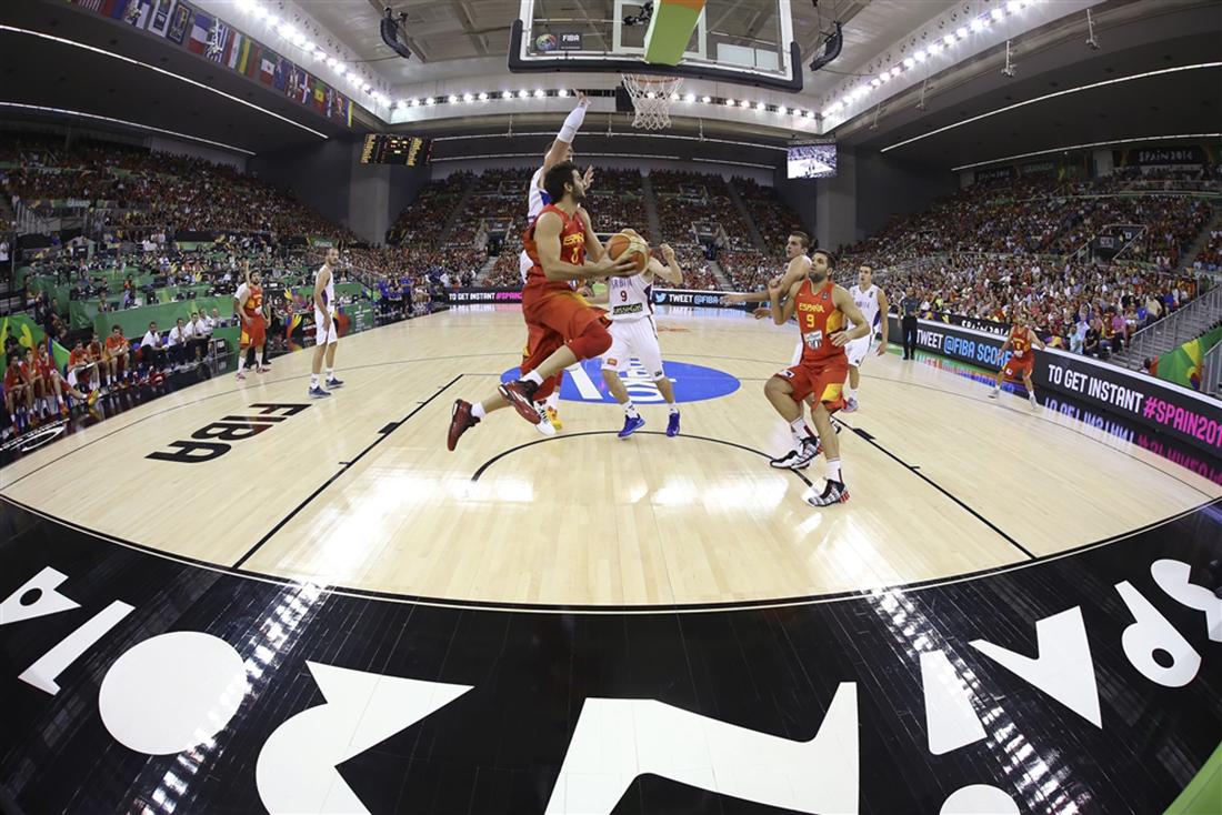 OCTAVOS de final del mundial de basquetbol españa 2014 en vivabasquet.com