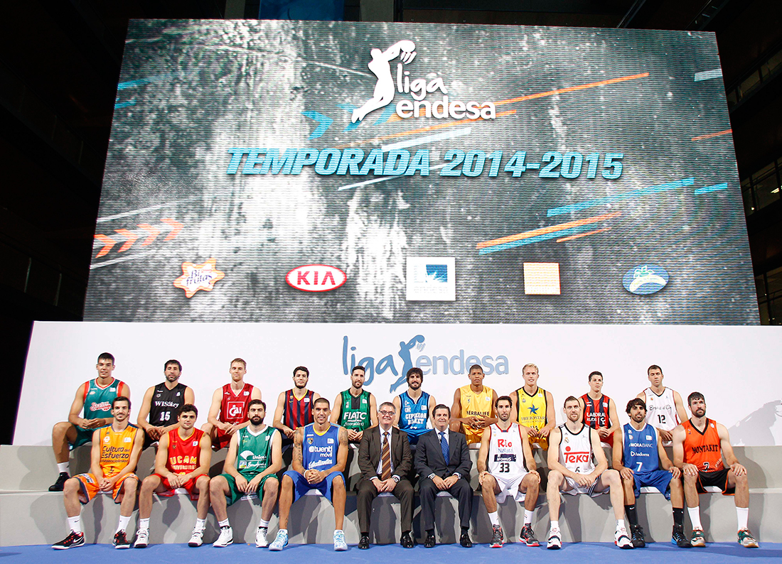 Presentan la Liga Endesa 2014-2015 en viva basquet