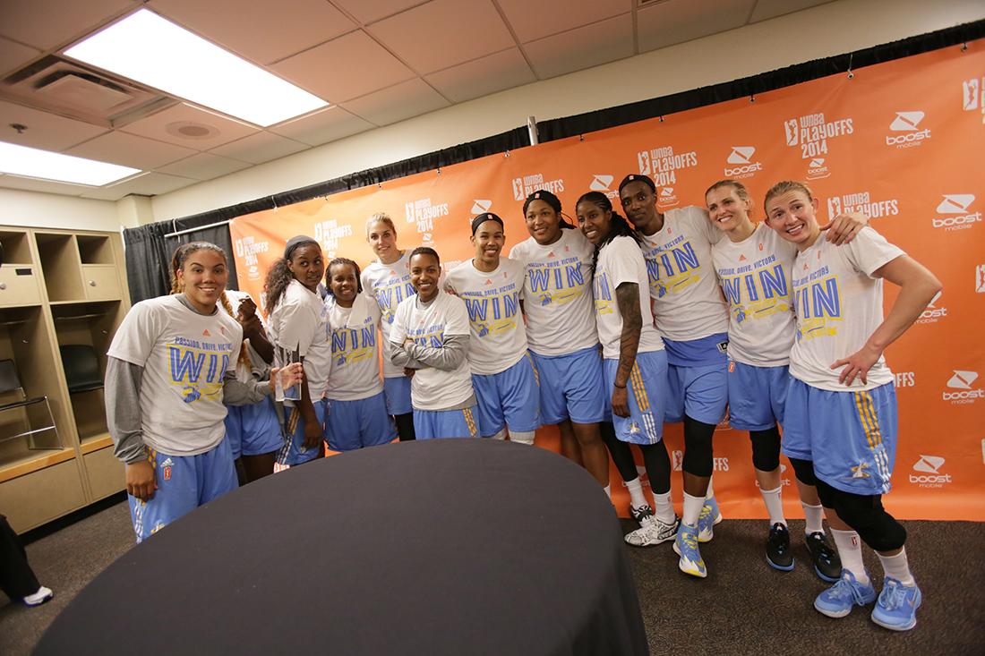 CHICAGO en la final de la WNBA en vivabasquet.com