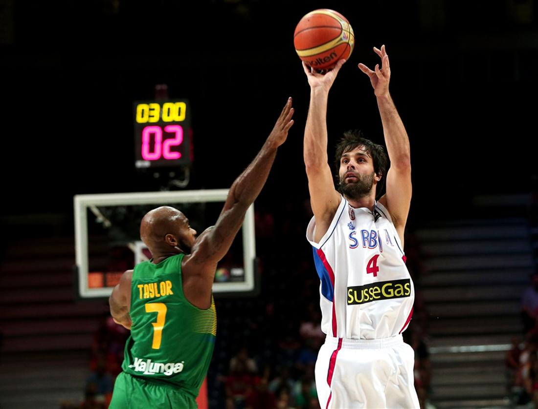 SERBIA derrota a BRASIL en la copa del mundo de basquetbol enterate en vivabasquet.com