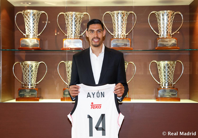 Gustavo Ayón ya es oficialmente del Real Madrid en viva basquet