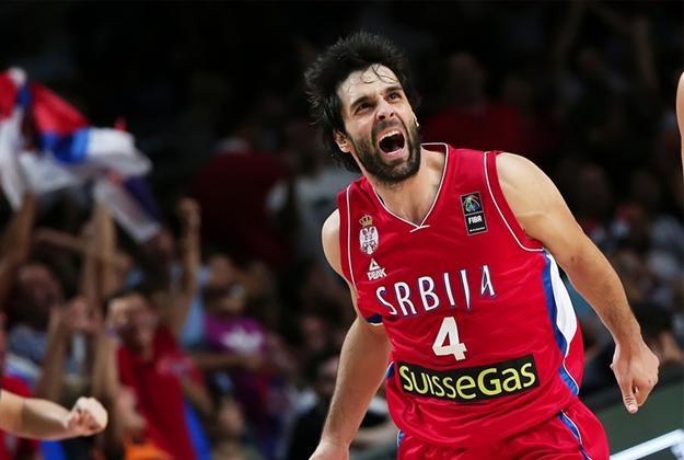 SERBIA DERROTA A FRANCIA en la copa del mundo españa 2014 enterate en viva basquet