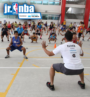 JRNBA en la ciudad de mexico en viva basquet