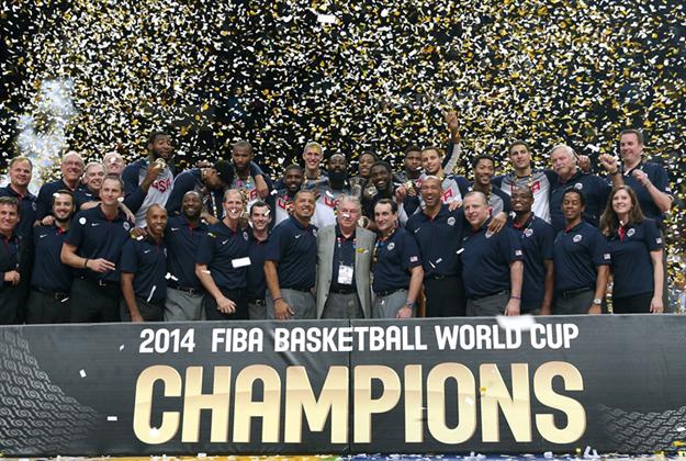 ESTADOS UNIDOS CAMPEON de la copa del mundo de basquetbol en viva basquet