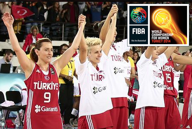 RUMBO A CUARTOS de final del mundial femenil de basquetbol turquia 2014 en viva basquet