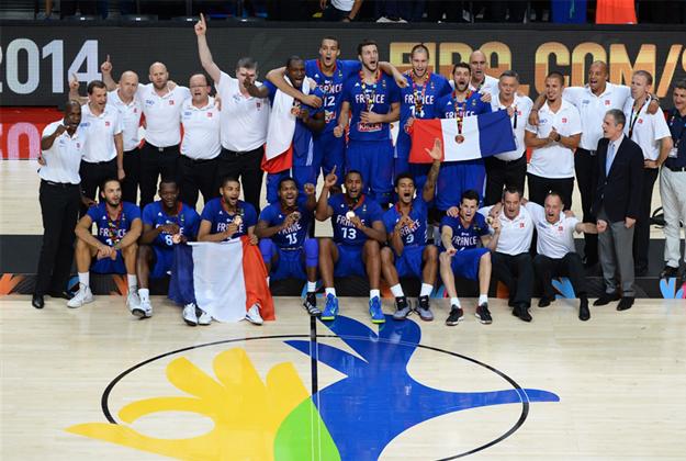 FRANCIA derrota a lituania por el tercer lugar en españa 2014