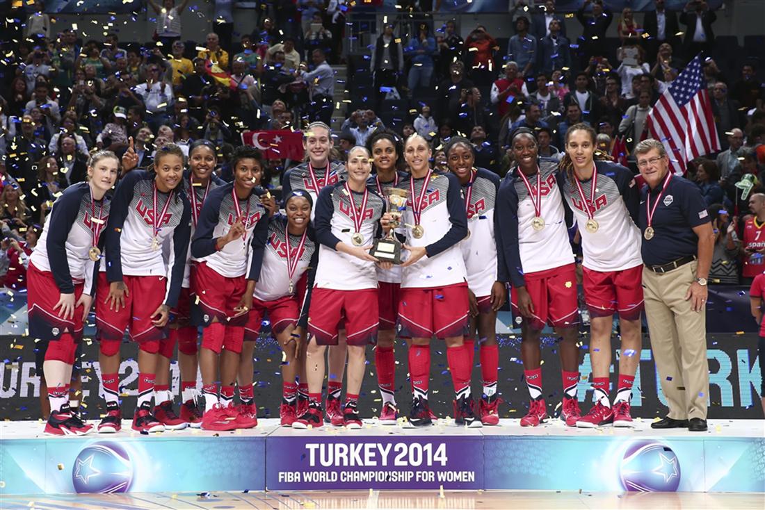 Invencibles, Estados Unidos se corona en Turquía 2014 enterate en vivabasquet.com