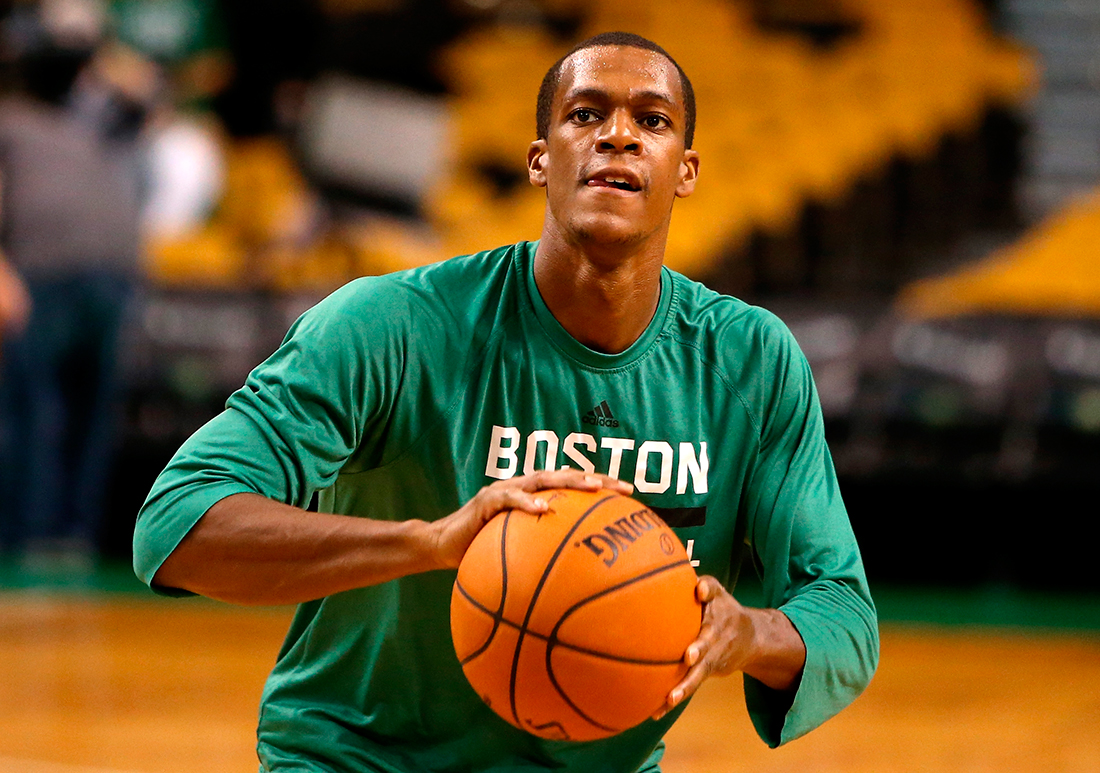 Rajon Rondo Getty Images Latin America / Getty Images / Mike Lawrie // por Viva Basquet