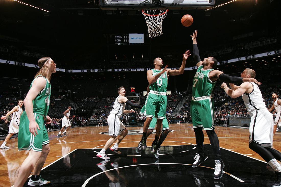 El experimento 44 minutos para los Celtics y para los nets