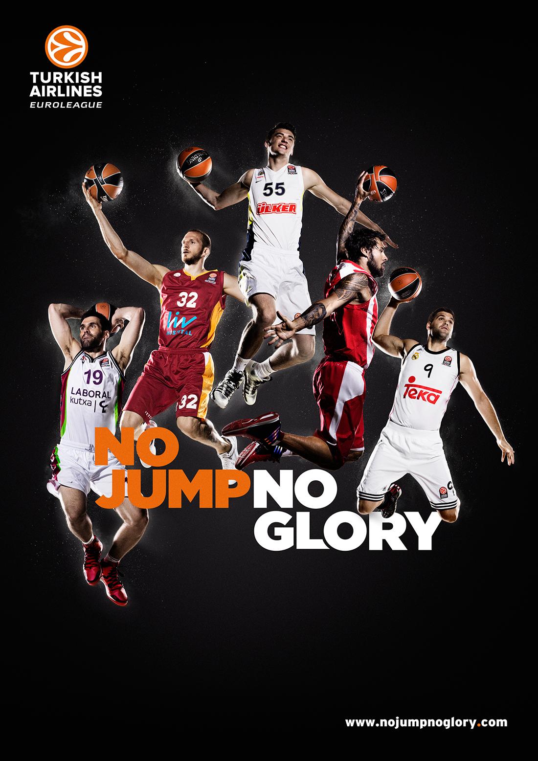 No Jump No Glory. La Euroliga a punto de arrancar.