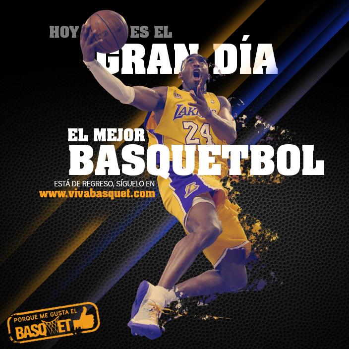 Sigue el mejor basquetbol del mundo por Viva Basquet.