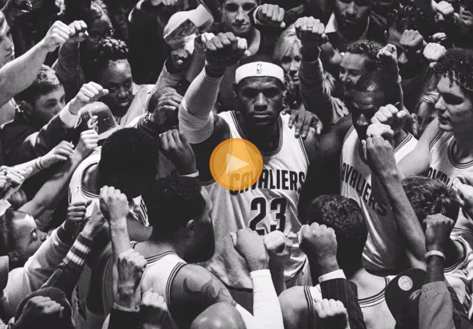 LeBron + Nike + Cleveland ='' Together