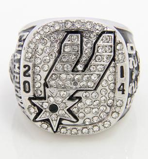 anillo de campeonato de los spurs