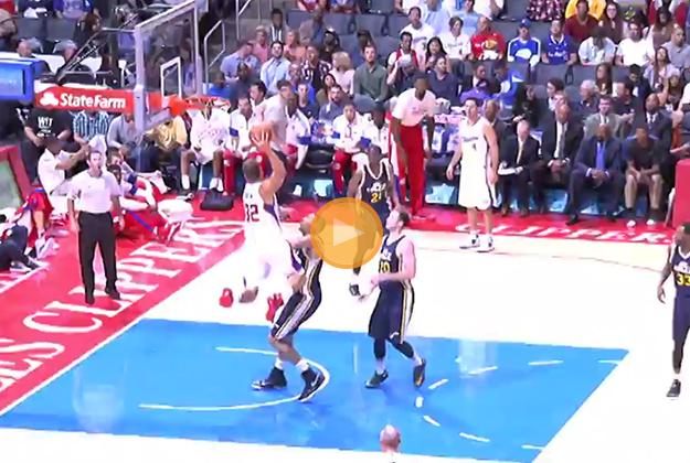 Blake Griffin encendido en viva basquet