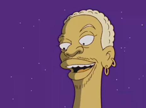 Dennis Rodman en_los_Simpson