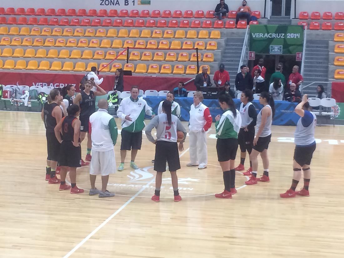 La selección mexicana de basquetbol Femenil inicia su camino en Centroamericanos.