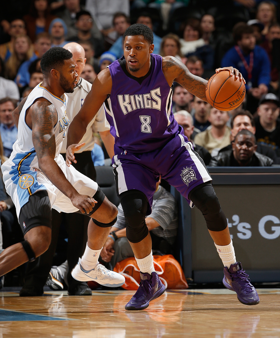Los Kings amaran a Rudy Gay