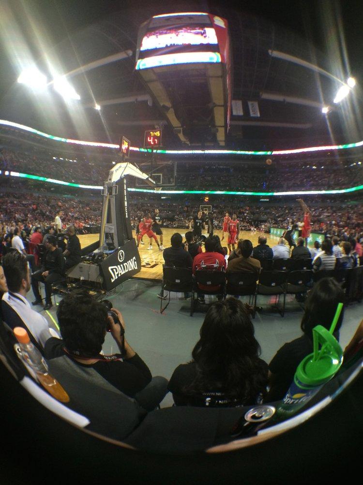 el #JuegoNBAMexico global games mexico city 2014