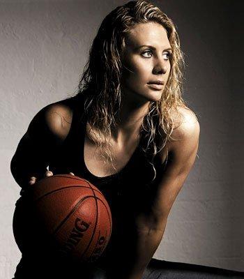Penny-Taylor una mujer muy sexy de la WNBA