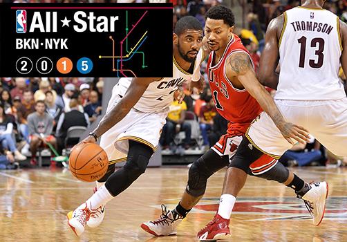 Arma tu equipo ideal para el NBA All-Star Game.