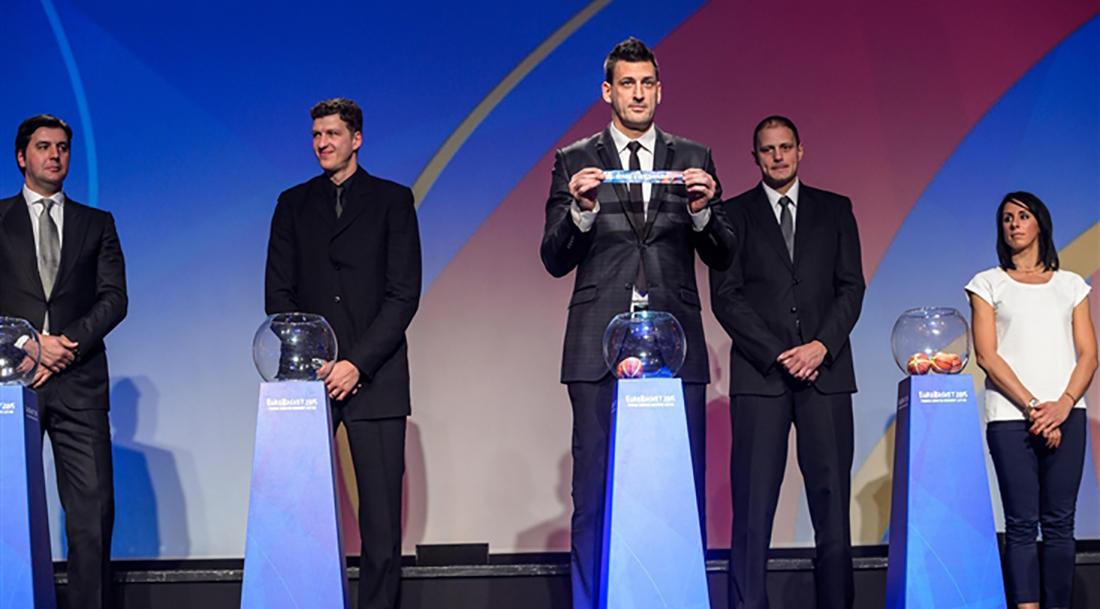 Listos los grupos del Eurobasket 2015