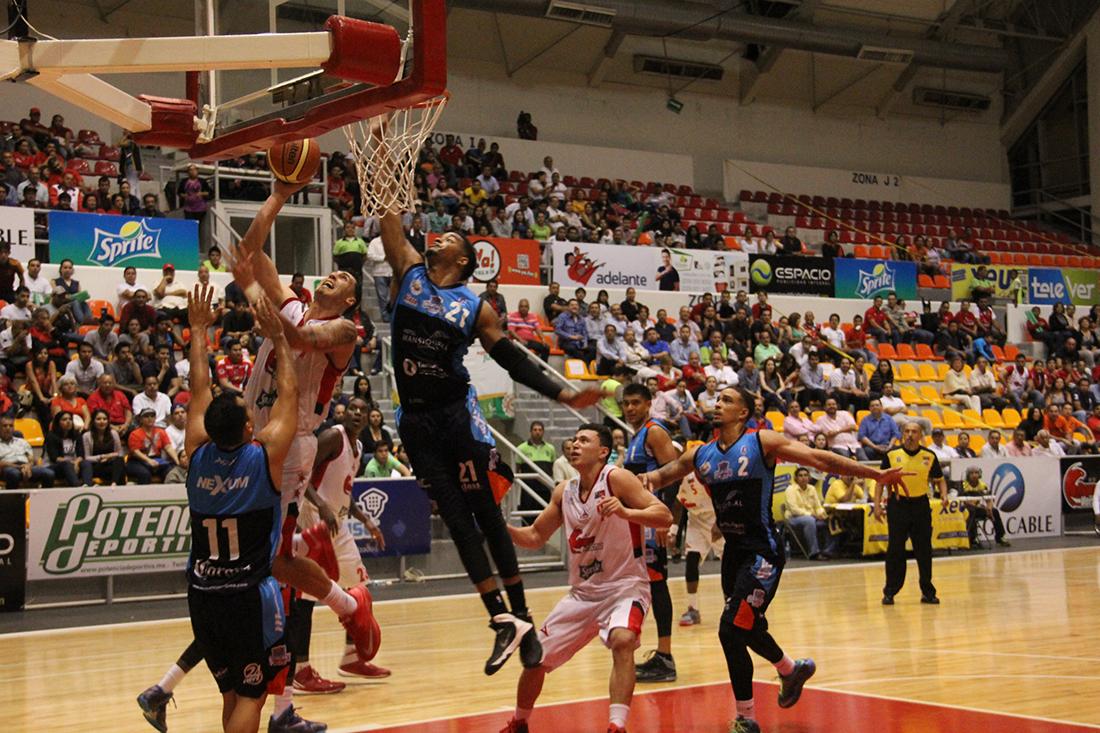 Cierre triunfal para Xalapa y Halcones Rojos en viva basquet
