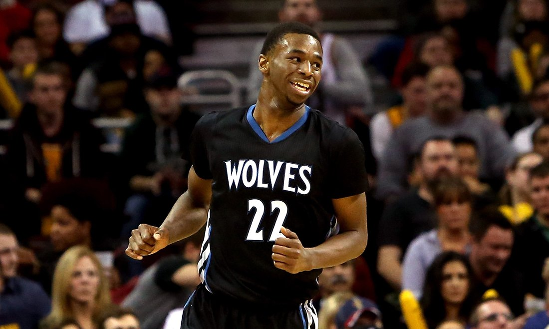 Andrew Wiggins Photo by Mike Lawrie/Getty Images