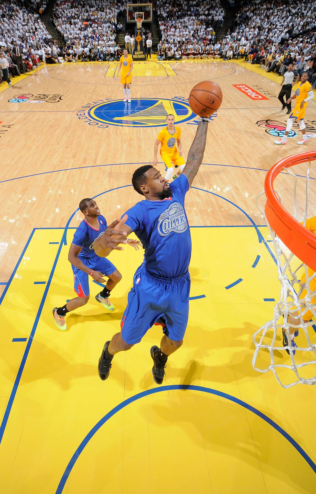DeAndre Jordan Copyright 2013 NBAE (Photo by Rocky Widner/NBAE via Getty Images)