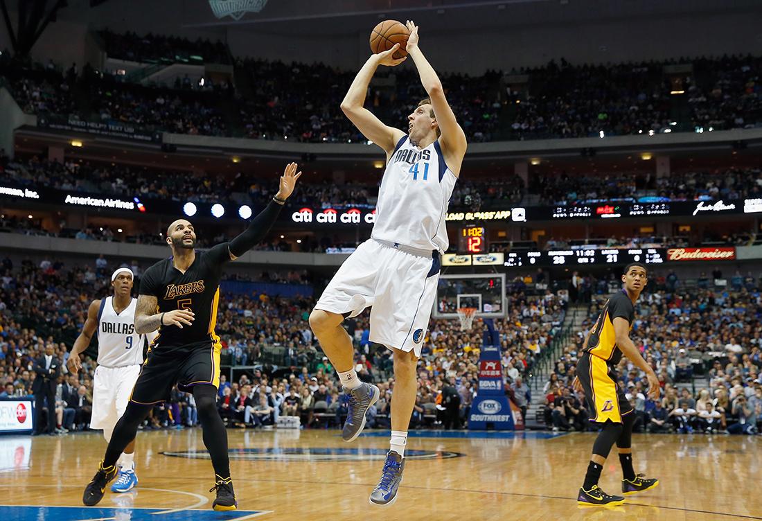 Dirk Nowitzki sigue haciendo historia en viva basquet