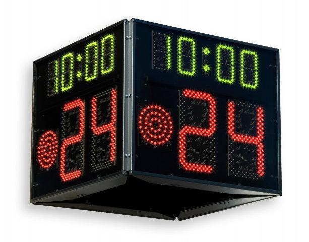 Reloj y dispositivo de veinticuatro segundos para principales competiciones oficiales de FIBA
