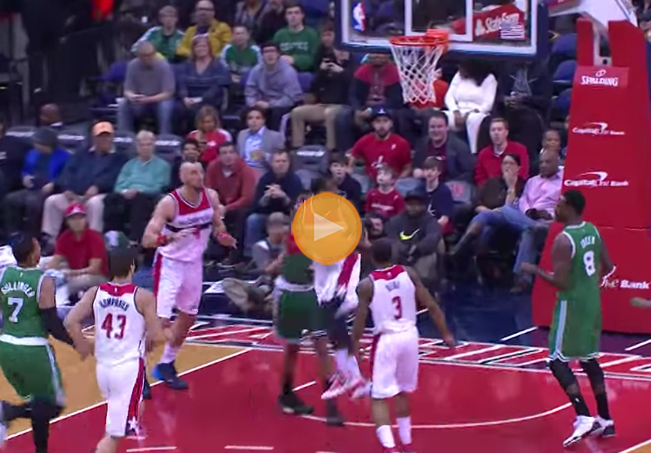 John Wall y su giro 360 en viva basquet