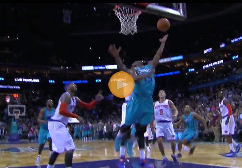 Kemba Walker acaba con los Knicks tras una canasta increible en el ultimo segundo