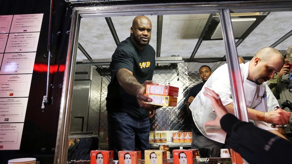 Shaq Serves Up Delicious The Original SoupMan Soups To Celebrate Nationwide Supermarket Launch