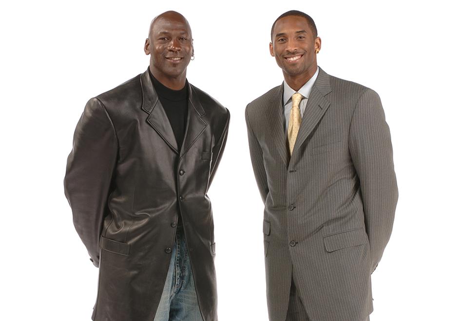 Kobe supera a Jordan en puntos y su majestad lo felicita en viva basquet