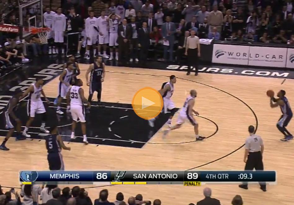 Juegazo entre Grizzlies y Spurs por viva basquet