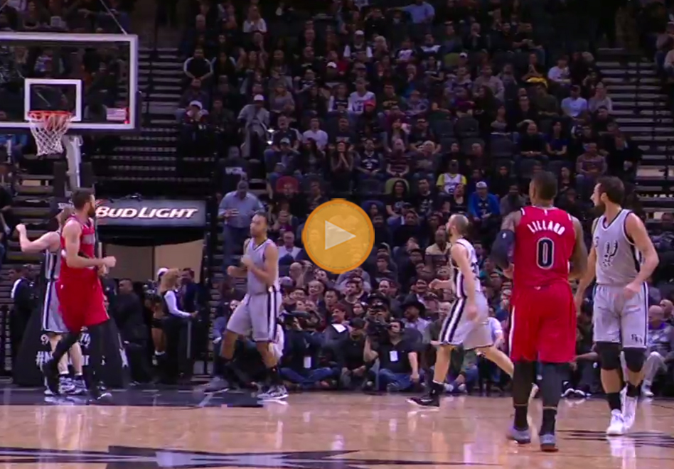 Damian Lillard acaba con los Spurs en 3OT en viva basquet
