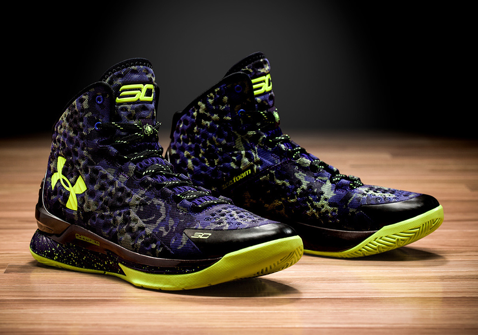 Stephen Curry estrena sneakers  para el  NBA All-Star Game por viva basquet