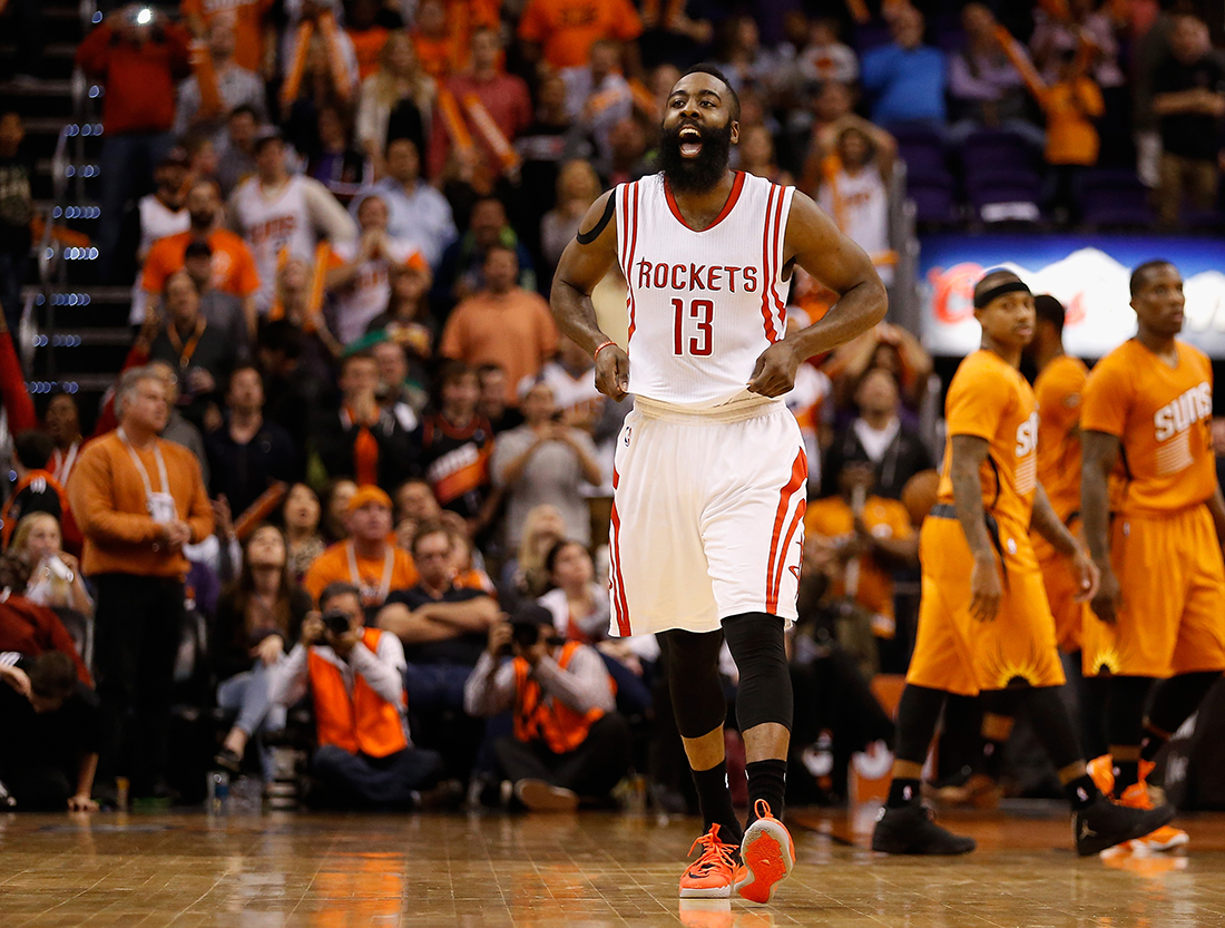 James Harden Photo by Christian Petersen/Getty Images