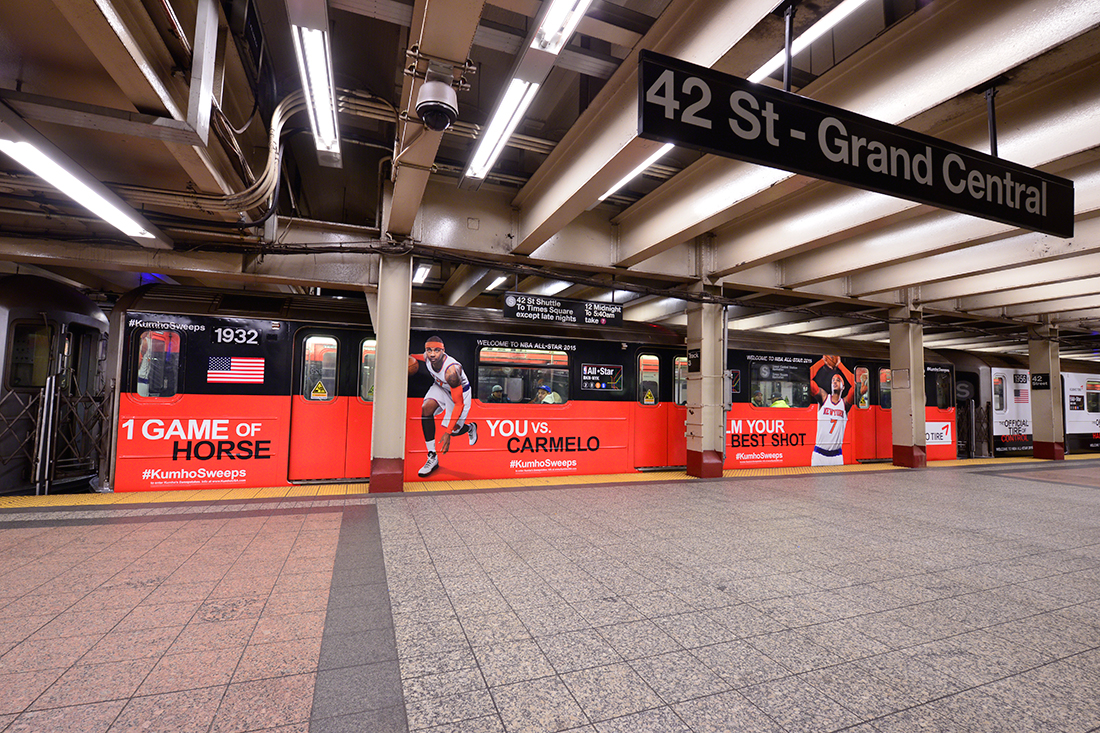 El NBA All-Star Game llega al metro de NYC por viva basquet