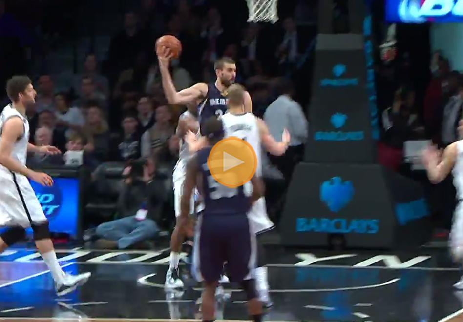Marc Gasol hace magia ante Brooklyn por viva basquet