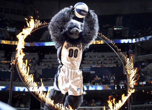 Las mascotas de la NBA (Parte 2: Conferencia Oeste) por viva basquet