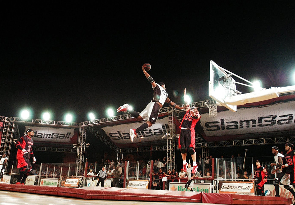 les presentamos Slamball por viva basquet