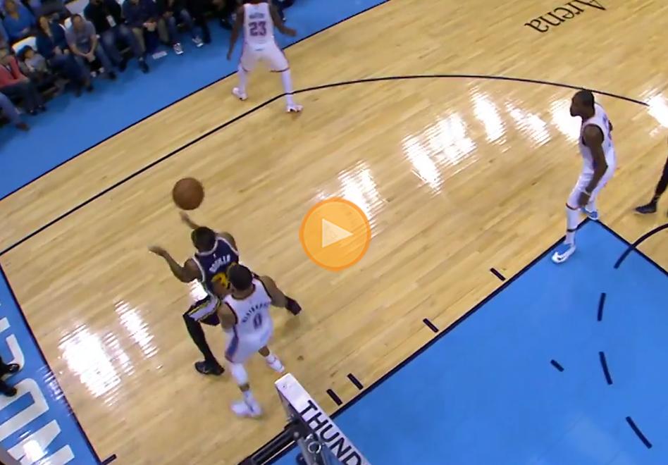 Trevor Booker logra el tiro del año en la NBA por viva basquet